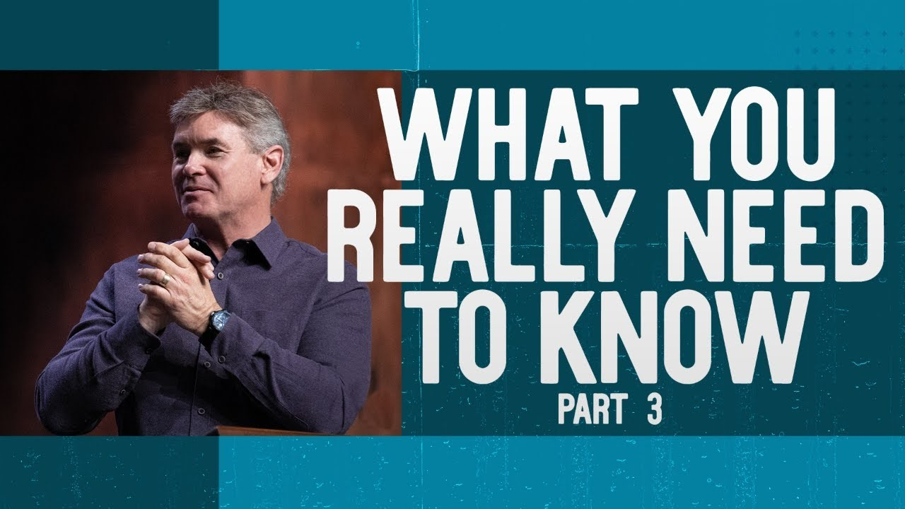What You Really Need To Know (Part 3)