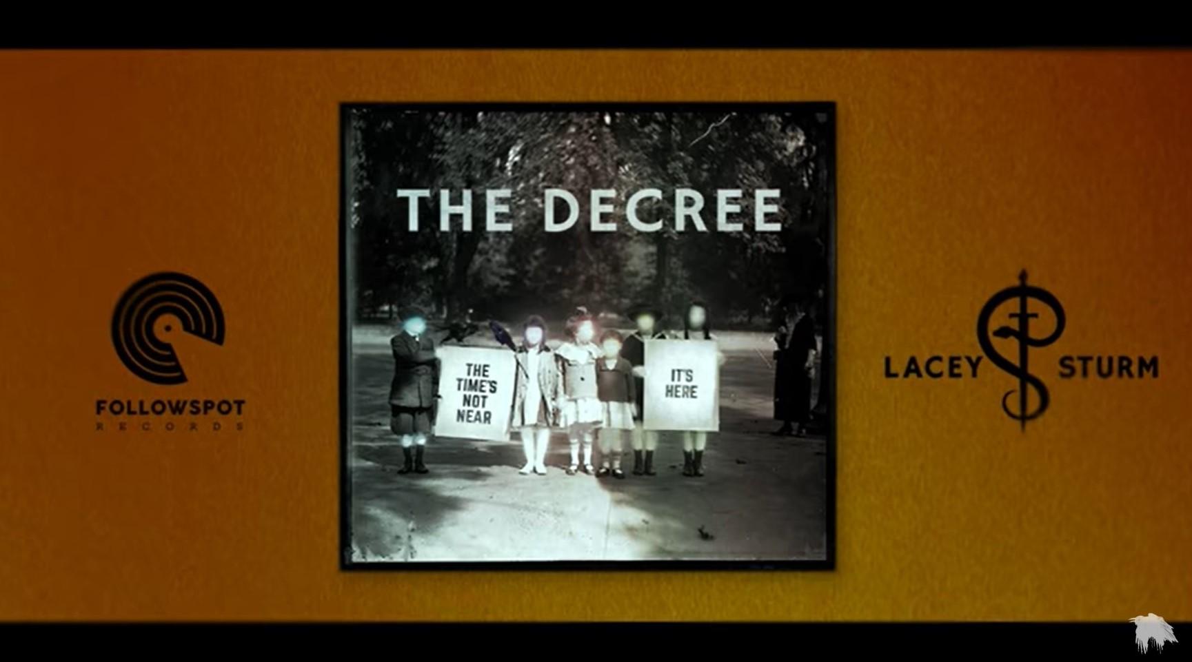 Lacey Sturm – The Decree (Official Audio)