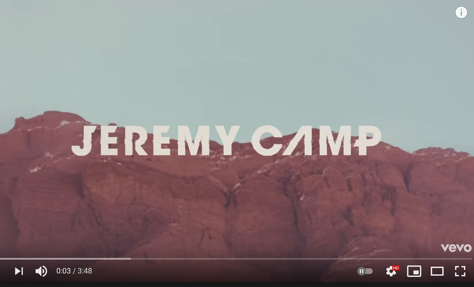 Jeremy Camp – Out Of My Hands (Radio Version/Lyric Video)