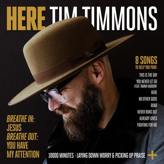 """Tim Timmons releases his new album""""HERE"""""""
