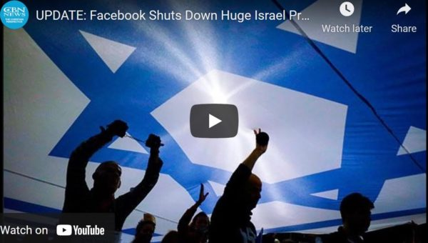 Facebook Shuts Down Huge Israel Prayer Page Targeted by Radical Muslims for Hate Speech
